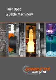 Fiber optic and cable Machinery - Bestof Kft.
