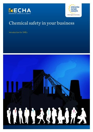 Chemical safety in your business
