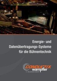 Energie- und Datenübertragungs-Systeme für die Bühnentechnik