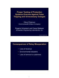 Proper Testing of Protection Systems Ensures Against ... - CacheFly