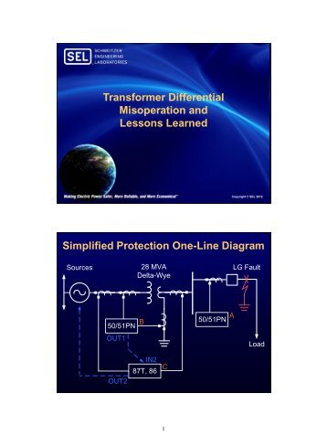 Transformer Differential Misoperation and Lessons ... - CacheFly