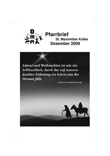 Dezember 2009 - Katholische Pfarrei Sankt-Maximilian-Kolbe