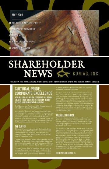 Shareholder news