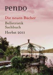 Die neuen Bücher Belletristik Sachbuch Herbst 2011