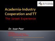 Synergy Between Academia and Industry