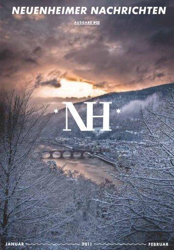 NEUENHEIMER NACHRICHTEN - Stadtteilverein Neuenheim eV