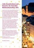 EINSIEDLER WEIHNACHTSMARKT - Weihnachtsmarkt Einsiedeln - Seite 3
