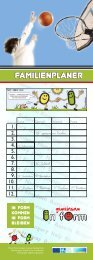 IN FORM-Kalender - Kinder - LKH Villach