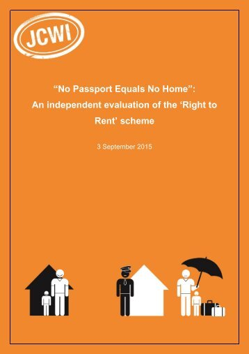 No Passport Equals No Home Right to Rent Independent Evaluation_0