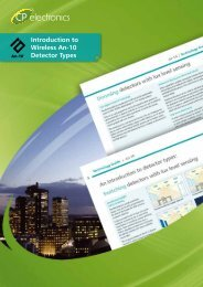 Introduction to Wireless An-10 Detector Types