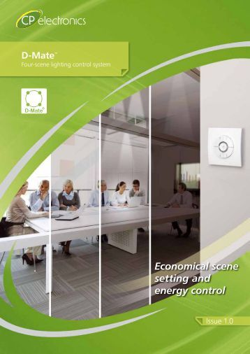 Economical scene setting and energy control