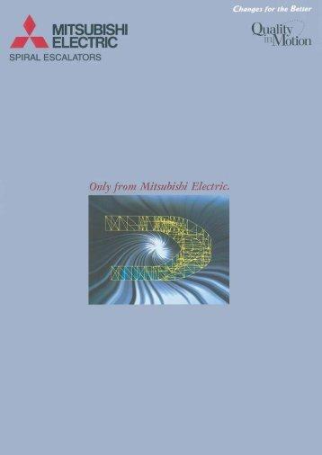 MITSUBISHI I' ELECTRIC - Mitsubishi Electric Elevators & Escalators