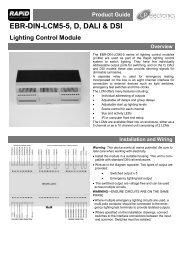 EBR-DIN-LCM5-5 D DALI & DSI