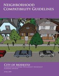 Neighborhood Compatibility Guidelines
