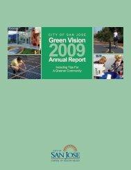 2009 Annual Report - City of San Jose