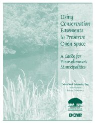 Using Conservation Easements to Preserve Open Space