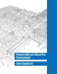 Commercial and Mixed-Use Development Handbook - State of Oregon