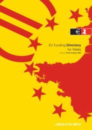 EU Funding Directory for Wales