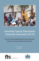Community Capacity Enhancement--Community ... - FHI 360