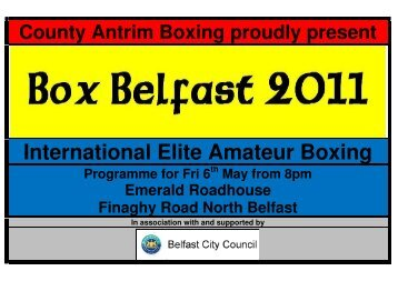 International Elite Amateur Boxing