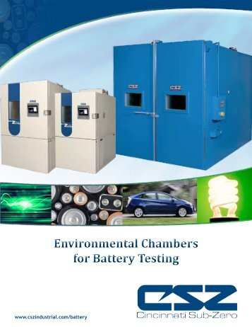 Environmental Chambers for Battery Testing