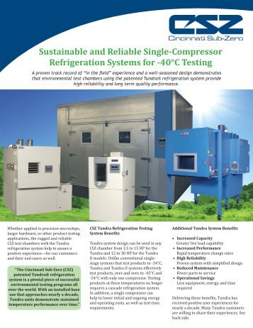 Customer Experiences - Environmental Test Chambers from ...