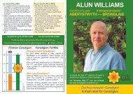 ALUN WILLIAMS