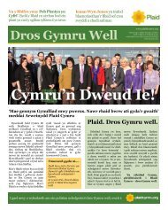 Cymru'n Dweud Ie!