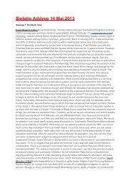 Bwletin Addysg 14 Mai 2013 - Plaid Cymru