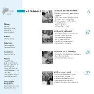 de l'ASI Les organes de l'ASI (Etat: décembre 2006)