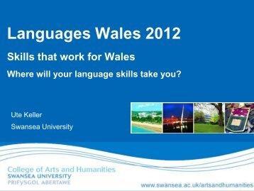 Languages Wales 2012