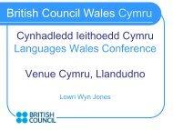 British Council Wales Cymru