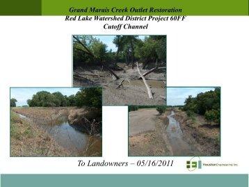 To Landowners – 05/16/2011