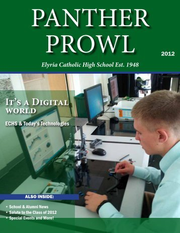 2012 Panther Prowl - Elyria Catholic High School