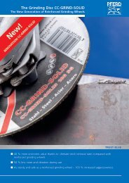 6 Diameter 36 Grit 4140 Maximum RPM Aluminum Oxide 1 Arbor Hole 1 Thick PFERD 61744 Bench Grinding Wheel