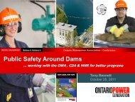 Public Safety Around Dams