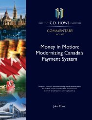 Money in Motion Modernizing Canada's Payment System