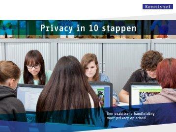 Privacy in 10 stappen