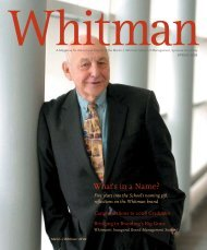 What's in a Name? - Whitman School of Management - Syracuse ...