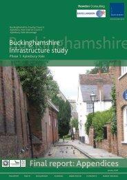 Final report: Appendices - Buckinghamshire County Council