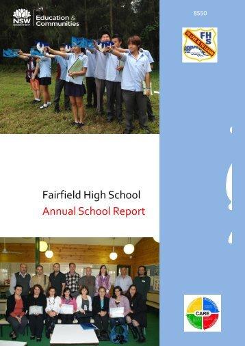 Fairfield High School Annual School Report