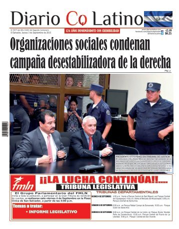 Edición 3 de Septiembre de 2015