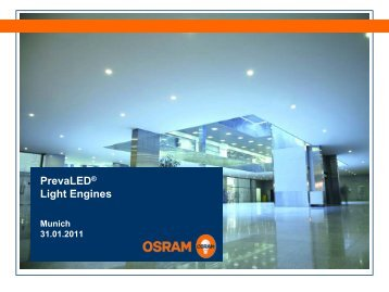 PrevaLED® Light Engines - Osram