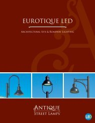 Eurotique LED Brochure.pdf - ANTIQUE Street Lamps