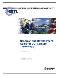 Research and Development Goals for CO2 Capture Technology