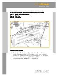 Wegbeschreibung LTMI Halle 12 - Be-Lufthansa.com