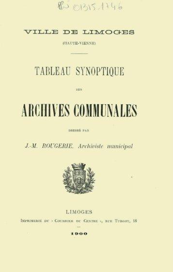 série - Bibliothèque numérique de l'école nationale des chartes