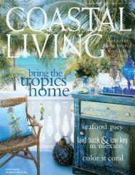 Read the Coastal Living article (PDF 800 kb) - Moule & Polyzoides