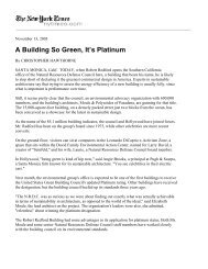 A Building So Green It's Platinum