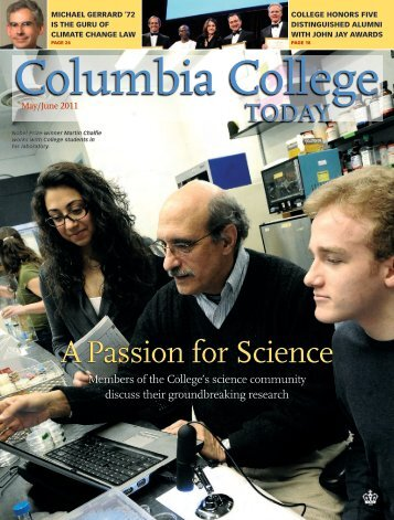 A Passion for Science - Columbia College - Columbia University